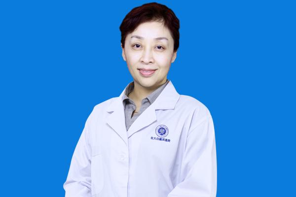 北京医师杨维玲莅临合肥北大•助力实现复色梦